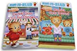 Simon&Schuster Daniel Tiger's Neighborhood Ready-to-Read Book Set - Daniel Gets Scared/ Daniel Goes Out for Dinner