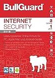 S.A.D BullGuard Internet Security 2018 - 3 Geräte/1 Jahr - Windows, MacOS, Android