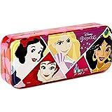 Disney Princess Triple Layer Beauty Tin - Set de Maquillaje para Niñas - Maquillaje Princesas - Neceser Maquillaje, Selección de Productos Seguros en un Lata de Maquillaje con 3 Pisos