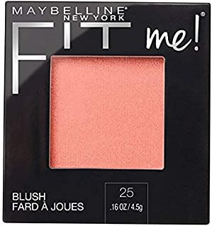 Maybelline Fit Me Blush, 25 Pink, 0.16 oz (Pack of 2)