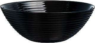 Dajar Ensalada Harena 27cm Luminarc, cristal, Negro, 27x 27x 9,8cm