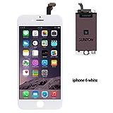 SUNTON écran LCD Assemblée Compatible pour iPhone 6 Blanc Remplacement Kit de Réparation avec Outils(iPhone 6 Blanc)