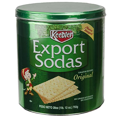 Zesta Export Soda Crackers, 28-Ounce (Pack of 3)
