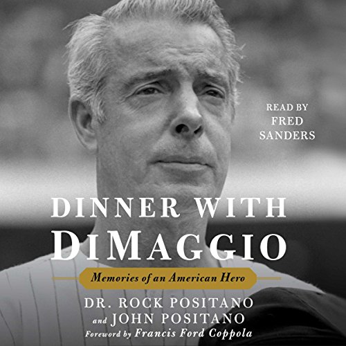 Dinner with DiMaggio audiobook cover art