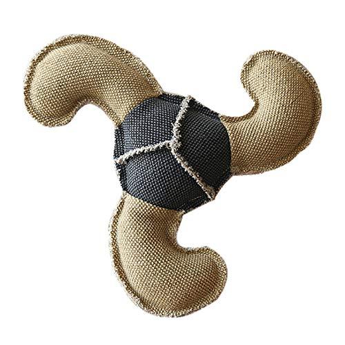 HORYDIA Hundespielzeug Plüsch Interaktives Kauen Hunde Spielzeug Quitschend Langlebig mit Baumwollmaterial Gelten Welpen, Medium und Große Hunde Kuscheltier. (L02)