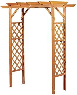yorten Holz Rosenbogen Pergola Gartentor aus gr/ün impr/ägniertem Kiefernholz gefertigt 150 x 50 x 200 cm Geeignet zum Klettern von Pflanzen und Rosen