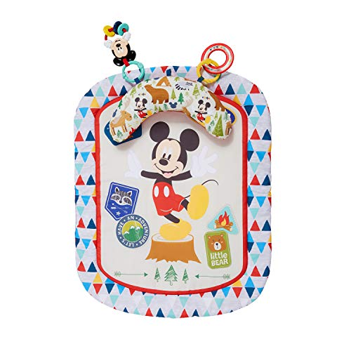 Bright Starts, Disney Baby Tapis d'Éveil Mickey Mouse Camping With Friends