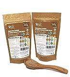 DULCILIGHT MIEL DE CAÑA MORENO EDULCORANTE GRANULADO NATURAL de azúcar de caña integral con el sabor del azúcar integral o panela pack 2 doypack 400 gr= 4kg. 1:10 Producto Premium