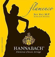 Cuerdas para guitarra Flamenco Juego 3 cuerdas agudas (Mi1+Si2+Sol3) Cuerdas agudas: naranja-rojo nylon redondeado precisión Hechas en Alemania