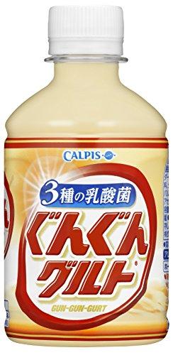 アサヒ飲料 ぐんぐんグルト 3種の乳酸菌 280ml 1セット 48本