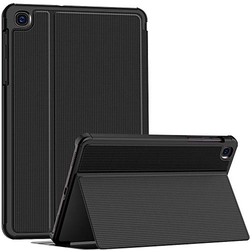 Soke Hülle für Neu Samsung Galaxy Tab A 8.4 2020(Model SM-T307), Folio Ständer Schutzhülle Tasche, Premium TPU Harte Smart Cover für Galaxy Tab A 8.4 (Nicht für Tab S 8.4 Zoll), Schwarz