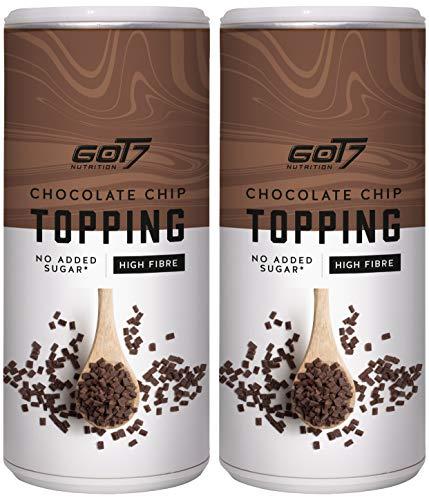 GOT7 - Topping - Perfekt für das Porridge oder die Smoothie Bowl - 2er Pack - Chocolate Chip - 350g