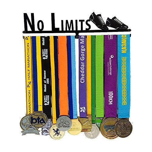 XJ Sports Medal Holder- Runner medal hanger-Medal Display - Medal Display Rack For 12 Medals - For Marathon, Running, Race, Sports Medals …
