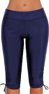 Lau's Traje de baño Pantalon Corto Mujer - Bañadores Mujer Pantalon para Playa