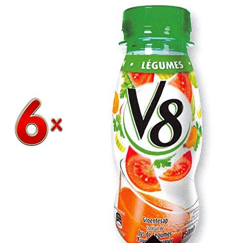 V8 Jus Legumes PET 4 x 6 x 250 ml Flasche (Gemüsesaft)