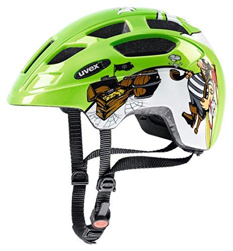 Uvex 414807 - Casco de Ciclismo, verde (Pirate green), 47-52 cm
