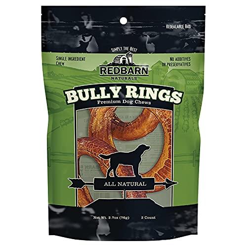 redbarn bully sticks 12 packs Redbarn Bully Rings 3-Count (Pack of 2)