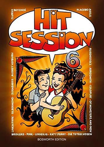 Hit Session 6: Songbook für Gitarre, Gesang