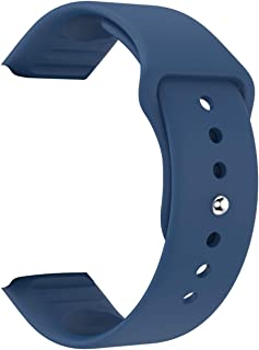 Smartwatch siliconen riem voor x6 plus y68 y68 plus x6 plus yx11 smart horloge vrouwen mannen duurzame pluggable horlogeba...