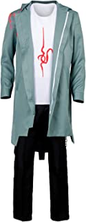 Danganronpa V2 Komaeda Nagito Cosplay Costume Green Cape Cloak Halloween Outfit