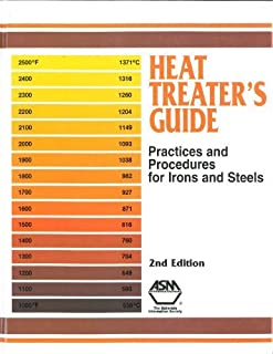By ASM International - Heat Treater's Guide: Practices and Procedures for Irons and Steels: 2nd (second) Edition
