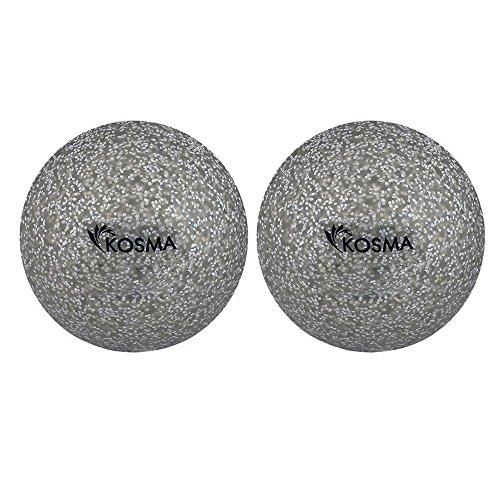 Kosma Unisex Youth KG-26068 Hockeyball, Silber, Einheitsgröße