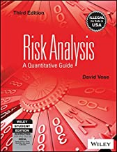 Risk Analysis: A Quantitative Guide 3Ed [Paperback] [Jan 01, 2018] David Vose