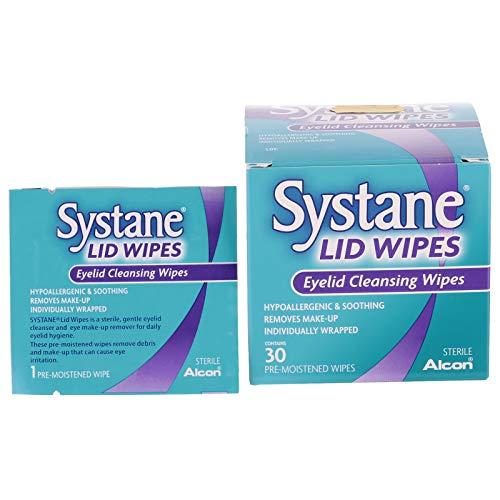 Systane Lid Wipes, Eyelid Cleansing Wipes, 30 Ea