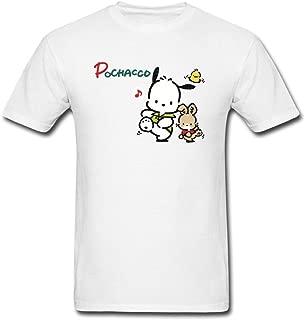 Kittyer Men's Pochacco Long Sleeve Cotton T Shirt