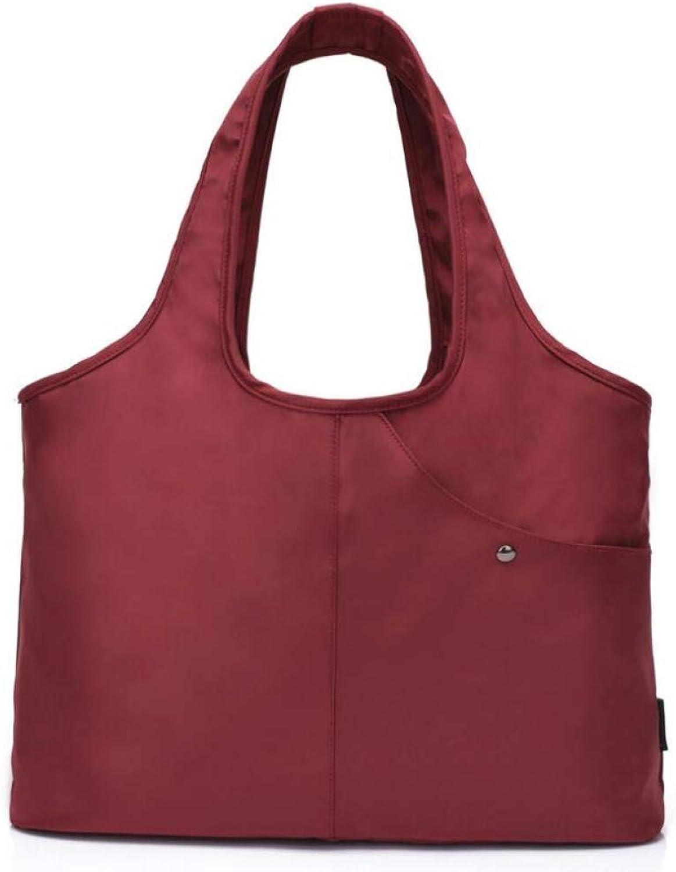 JQSM Oxford Woman Large Capacity Women Shoulder Bag Ladies Shopping Bags Nylon Sac Totes Handbag Suitable for Umbrella Bolsa Feminina