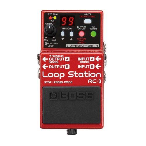 BOSS RC Loop Station und BOSS psa-120s2Netzteil