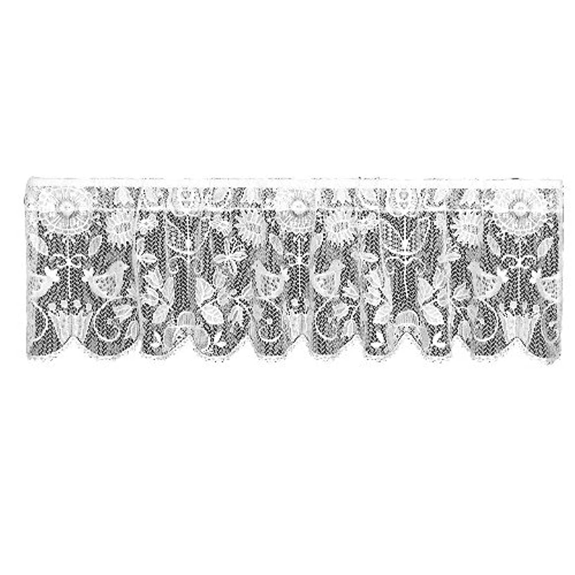 Heritage Lace Rhapsody 60-Inch Wide by 16-Inch Drop Champagne Valance