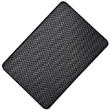 Hulless 10.6 x 5.9 inch Super Sticky Car Dashboard Anti Slip Mat Magic Anti Slip Mat Car Dashboard Sticky Pad Adhesive Mat for Cell Phone, CD, Electronic Devices, Keys, Sunglasses, etc, 2 Pcs.