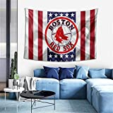 G-III Sports Boston Red Sox Tapestry Wall Hanging Home Decoration for Living Room Bedroom Dormitory Decor 60 X 40 Inches