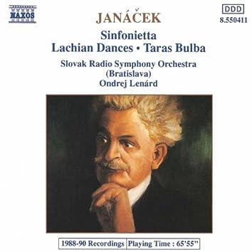 JANACEK: Lachian Dances / Taras Bulba / Sinfonietta