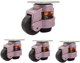 LYQQQQ Industriële wielen 40F/60F/80F - Horizontale aanpassing nivellering - Heavy Duty verstelbareGeschikte apparatuur (4...