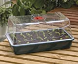 Garland Large High-Dome Propagator, Green, 37x22x19 cm