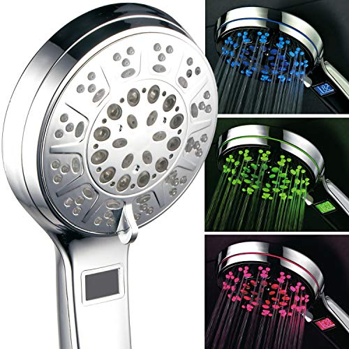 Hotel Spa 3 Colors LED Shower