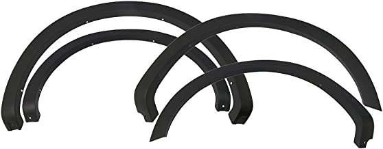 Fender Flares Compatible With 2004-2008 Ford F-150 STYLESIDE ONLY | Factory Style Unpainted Black PP Front Rear Right Left Wheel Cover Protector Vent Trim by IKON MOTORSPORTS