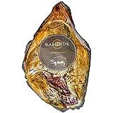 Jamón Curado Deshuesado Biselado - Pieza de jamón bodega deshuesada, con un corte en V en la parte de la piel - Peso Aproximado 6 kilos (Jamón de Bodega)