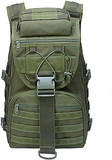 LHI Mochila táctica militar grande impermeable Molle Bug Out Bag Army 3 días de asalto
