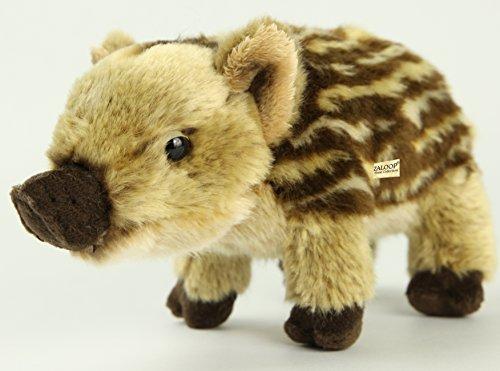 Zaloop Frischling ca. 25 cm Plüschtier Kuscheltier Stofftier Plüsch Wildschwein 134