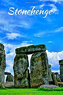 Stonehenge: Stonehenge England Small / Medium Lined A5 Notebook (6