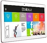 Billow Technology X103P - Tablet de 10.1' (WiFi + 3G, Quad Core, 1 GB de RAM, 16 GB de Memoria Interna, Android 7.0) Color Rosa Cuarzo