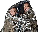 Best Emergency Mylars - Kangaroo Emergency Thermal Blankets (Pack of 10) Review