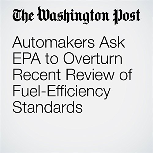 Automakers Ask EPA to Overturn Recent Review of Fuel-Efficiency Standards copertina