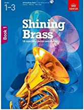Shining Brass, Book 1: 18 Pieces for Brass, Grades 1-3, with CD (Shining Brass (Abrsm)) (Mixed media product) - Common