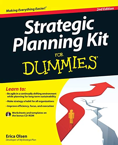 Compare Textbook Prices for Strategic Planning Kit For Dummies 2 Edition ISBN 9781118077771 by Olsen, Erica