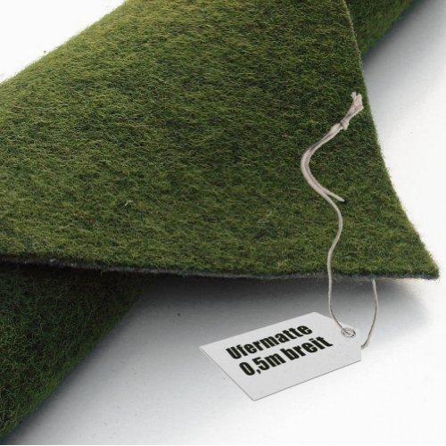 Ufermatte grün 50cm breit | 10m lang