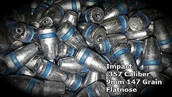 SHTFandGO Impact 100 Qty 9mm//357//45//50 Caliber Air Rifle Bullets Pellets
